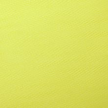 Flo Yellow Dress Net Fabric